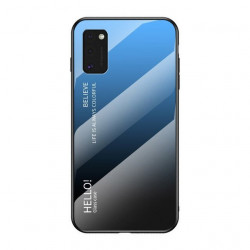 HUAWEI P40 LITE,NOVA 7I,NOVA 6 SE GLASS CASE BLACK-BLUE