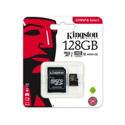 KINGSTON MICRO SD КАРТА 128GB C10 80MB s