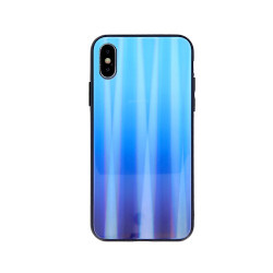 SAMSUNG A10 GLASS CASE BLUE