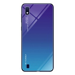 SAMSUNG A10 GLASS GREEN PURPLE