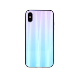 SAMSUNG A10 GLASS CASE BLUE-PINK