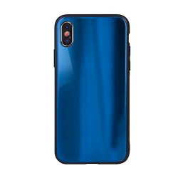 SAMSUNG A21S GLASS CASE DARK BLUE