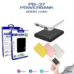 SUNIX POWER BANK 5O00 mah БЯЛ
