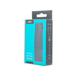 SETTY POWER BANK 2600mA ЧЕРЕН